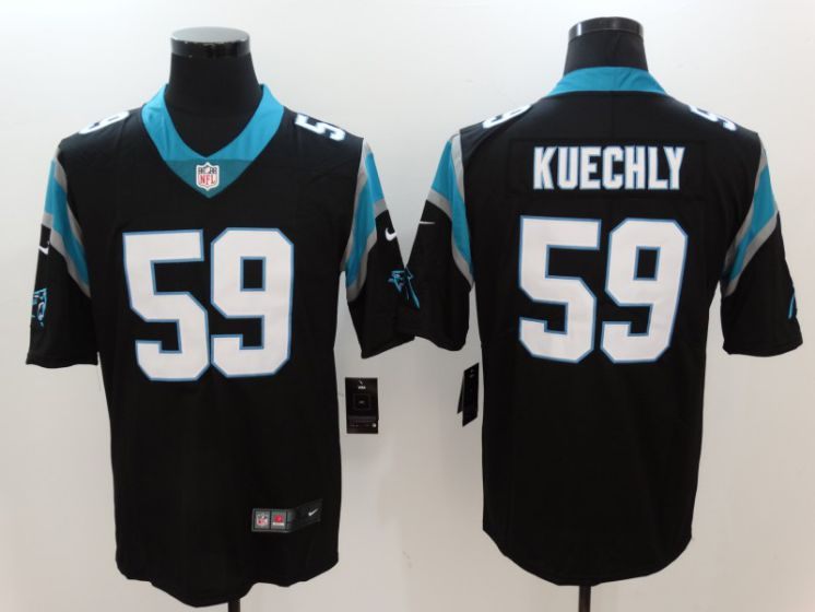 Men Carolina Panthers 59 Kuechly Black Nike Vapor Untouchable Limited NFL Jerseys