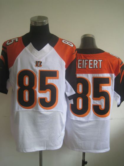 Men Cincinnati Bengals 85 Tyler Eifert White Elite Nike NFL Jerseys
