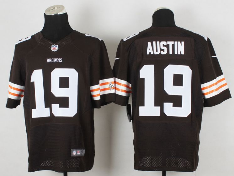 Men Cleveland Browns 19 Austin Brown Elite Nike NFL Jerseys