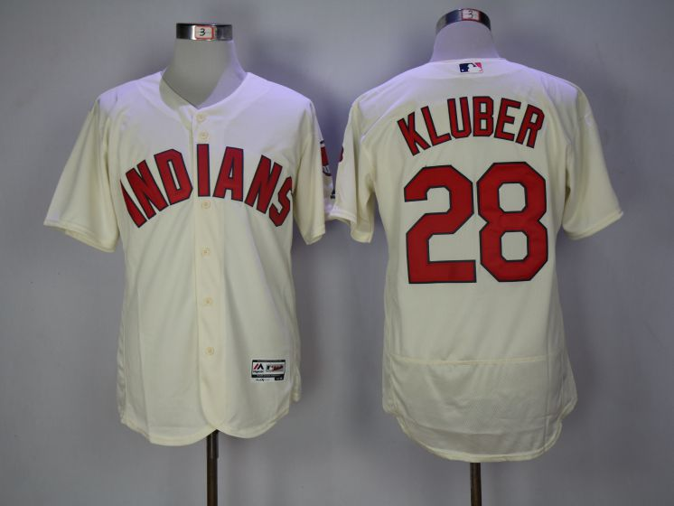 Men Cleveland Indians 28 Corey Kluber Gream Elite MLB Jerseys