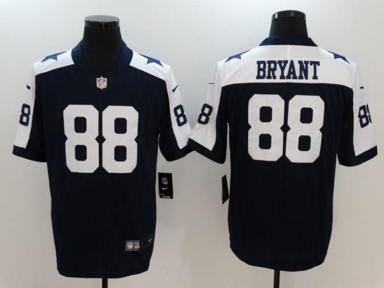 Men Dallas Cowboys 88 Bryant Blue Thanksgiving Nike Vapor Untouchable Limited  NFL Jerseys 8444ed687