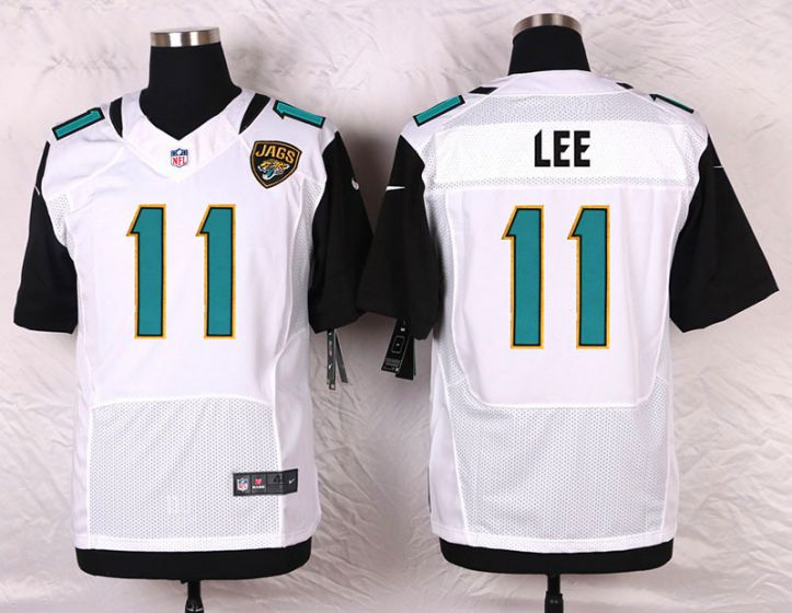 Men Jacksonville Jaguars 11 Marqise Lee White Elite Nike NFL Jerseys