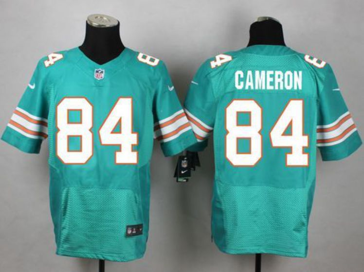 Men Miami Dolphins 84 Jordan Cameron Green Elite Nike NFL Jerseys