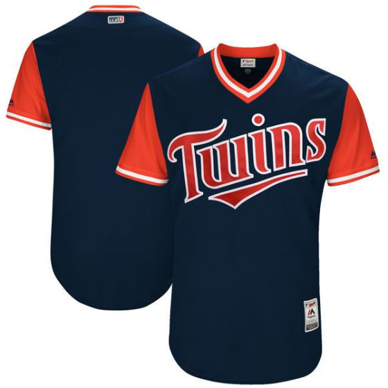 Men Minnesota Twins Blank Blue New Rush Limited MLB Jerseys