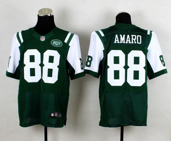 Men New York Jets 88 Jace Amaro Green Elite Nike NFL Jerseys
