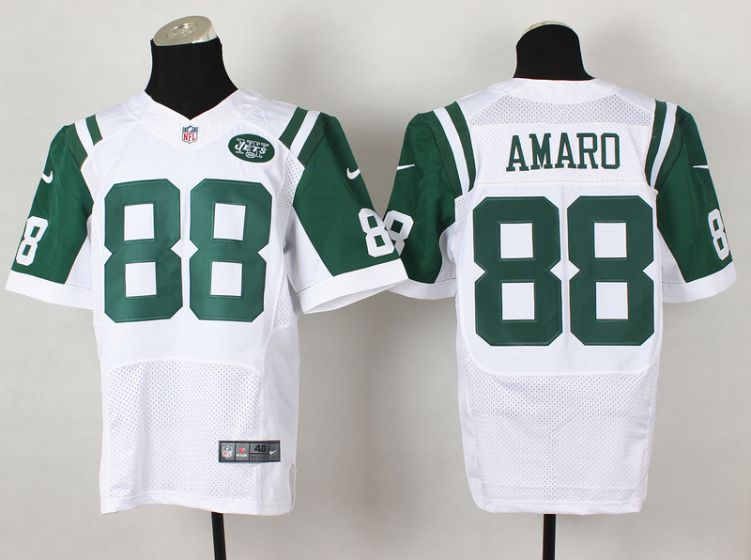 Men New York Jets 88 Jace Amaro White Elite Nike NFL Jerseys
