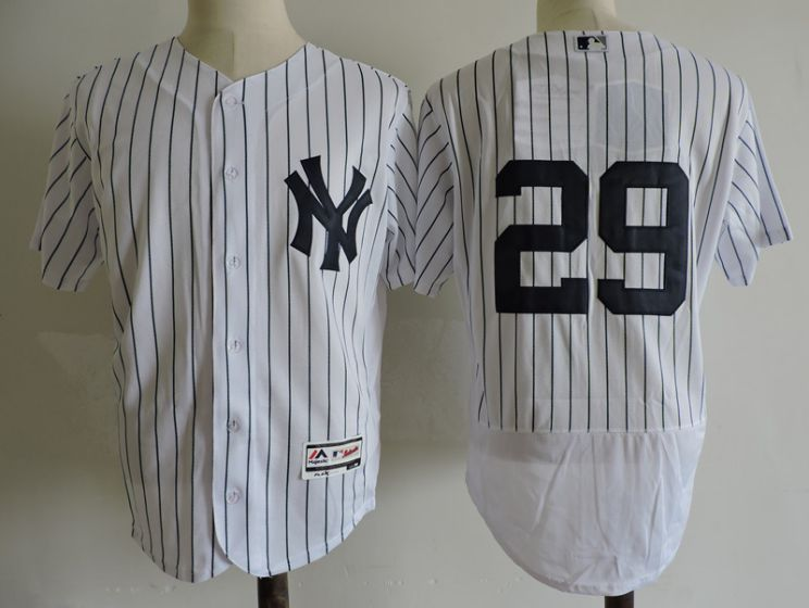 Men New York Yankees 29 Todd Frazier White Elite MLB Jerseys