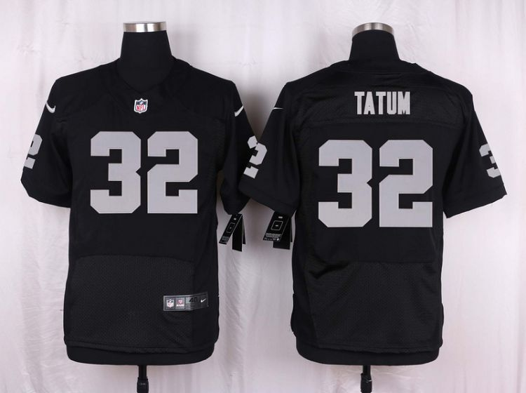 Men Oakland Raiders 32 Jack Tatum Black Elite Nike NFL Jerseys