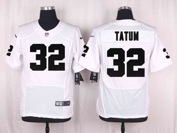 Men Oakland Raiders 32 Jack Tatum White Elite Nike NFL Jerseys
