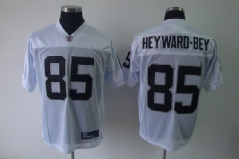 Men Oakland Raiders 85 Darrius Heyward-Bey White Elite Nike NFL Jerseys