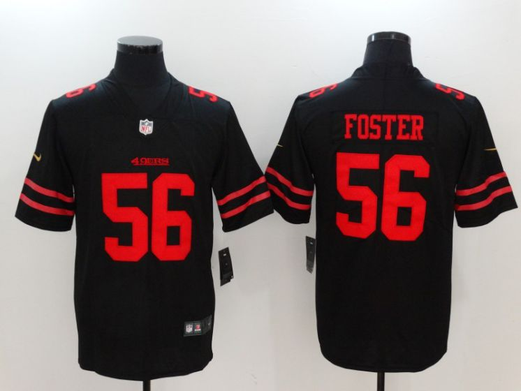 Men San Francisco 49ers 56 Reuben Foster Black Nike Vapor Untouchable Limited NFL Jerseys