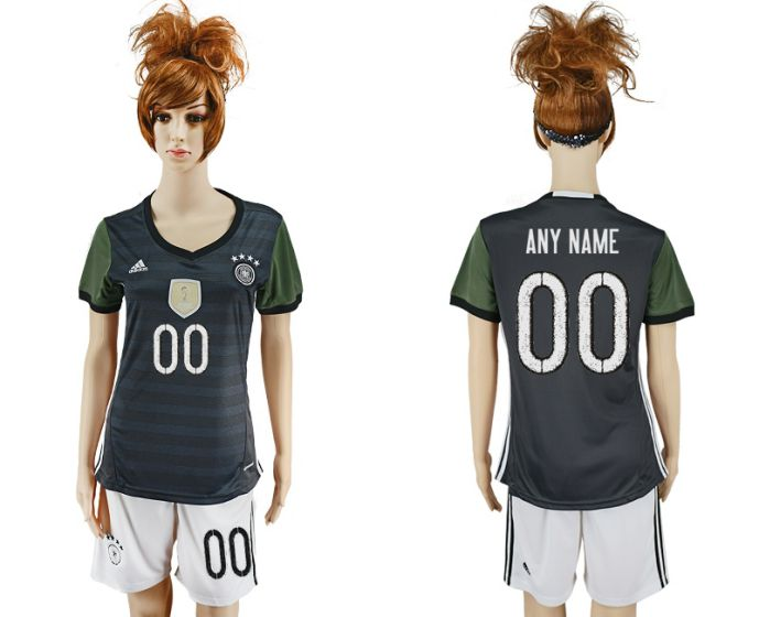 National 2017-2018 Germany away women cutomized soccer jersey