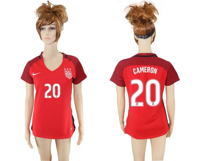 National 2017-2018 United State away aaa women 20 soccer jersey