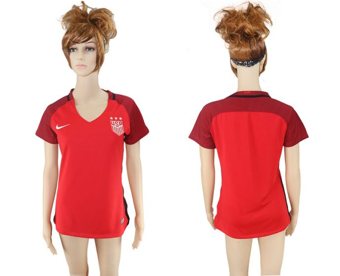 National 2017-2018 United State away aaa women soccer jersey