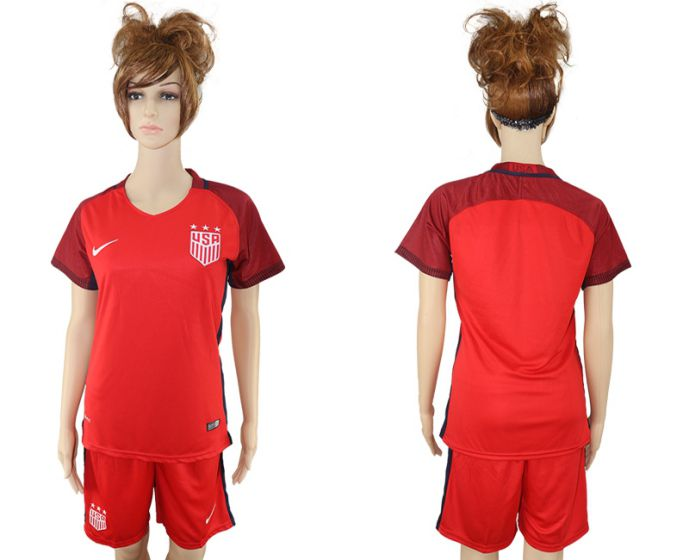WOMEN National 2017-2018 United State away soccer jersey