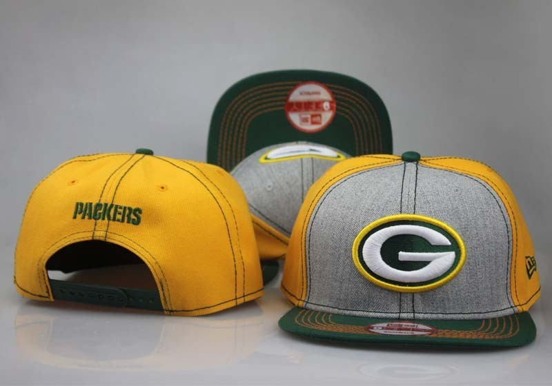 2017 NFL Green Bay Packers Snapback 2 hat 0927 LTMY