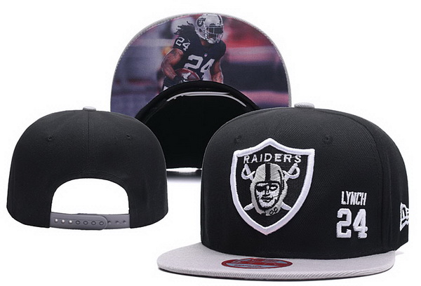 2017 NFL Oakland Raiders 24 Lynch Snapback hat 0927 xdfmy
