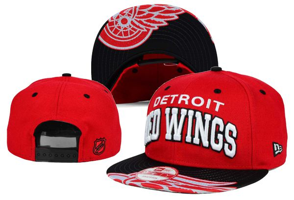 2017 NHL Detroit Red Wings Snapback hat XDFMY