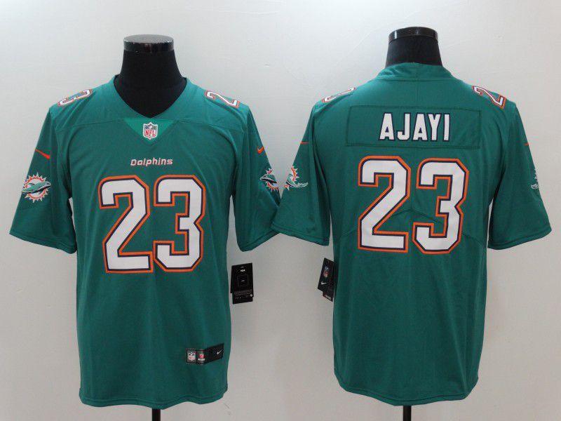 50d33d1af Men Miami Dolphins 23 Ajayi Green Nike Vapor Untouchable Limited NFL Jerseys