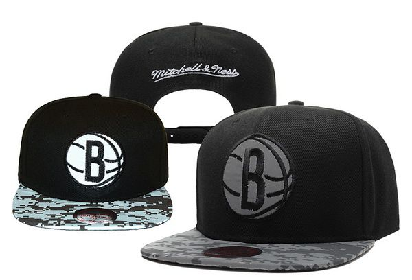 2017 NBA Brooklyn Nets Snapback hat