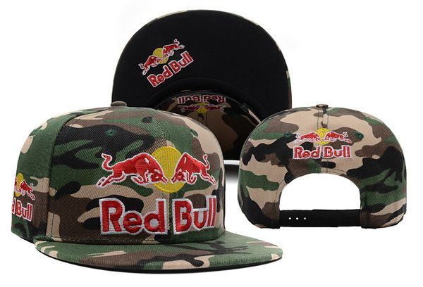 2017 NBA Red Bull Camo Snapback hat