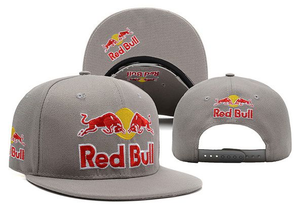 2017 NBA Red Bull Snapback Grey 5 hat