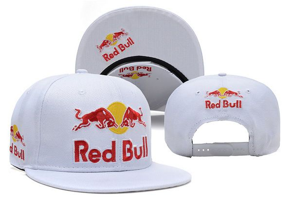 2017 NBA Red Bull Snapback White hat