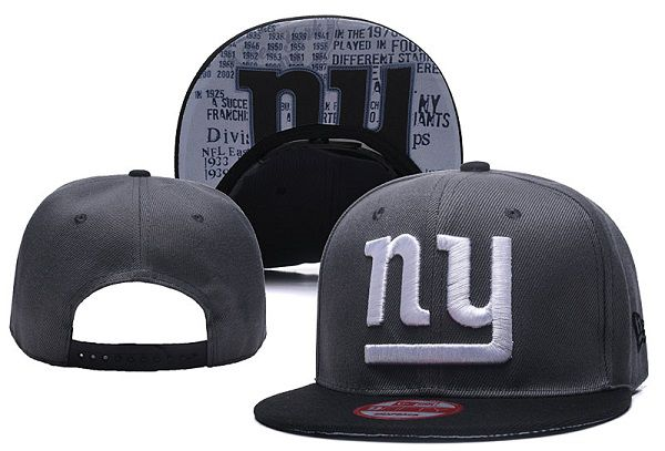 2017 NFL New York Giants Snapback XDFMY hat