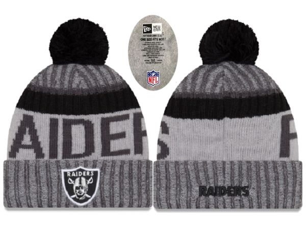 2017 NFL Oakland Raiders Knit Beanie 3 xdfmy hat