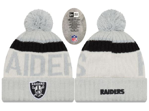 2017 NFL Oakland Raiders Knit Beanie xdfmy hat