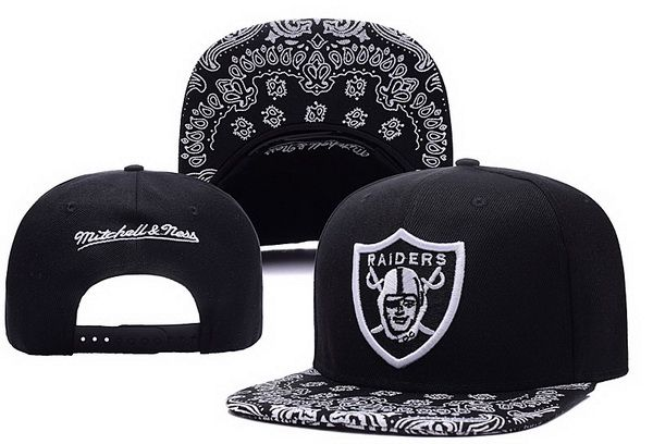 2017 NFL Oakland Raiders Snapback 2 hat