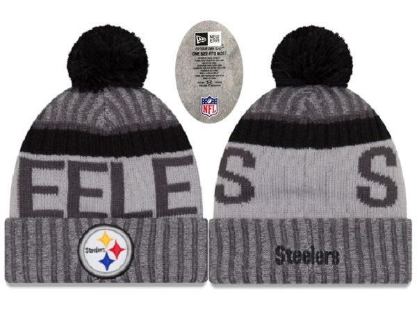 2017 NFL Pittsburgh Steelers Knit Beanie XDFMY hat