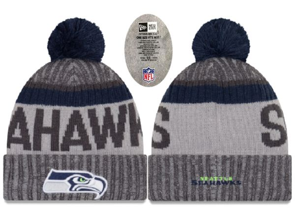 2017 NFL Seattle Seahawks Knit Beanie 2 xdfmy hat