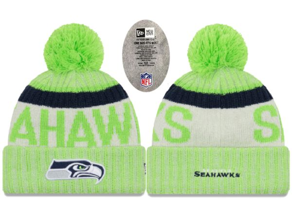 2017 NFL Seattle Seahawks Knit Beanie xdfmy hat