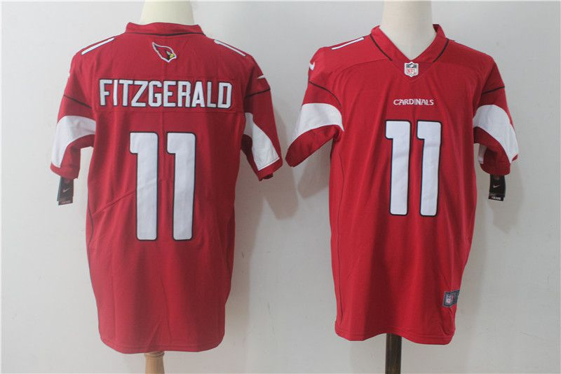 Men Arizona Cardinals 11 Fitzgerald Red Nike Vapor Untouchable Limited NFL Jerseys
