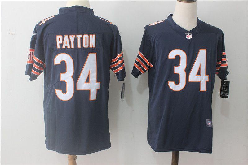 ... low cost men chicago bears 34 payton blue nike vapor untouchable limited  nfl jerseys nike bears ad9027512