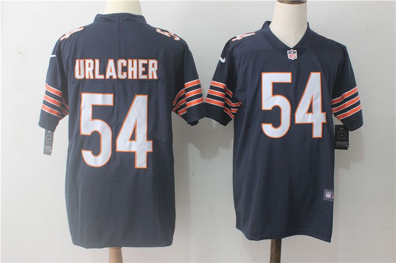 Men Chicago Bears 54 Urlacher Blue Nike Vapor Untouchable Limited NFL Jerseys