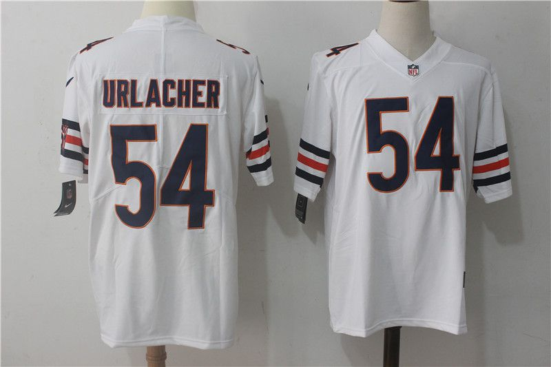 Men Chicago Bears 54 Urlacher White Nike Vapor Untouchable Limited NFL Jerseys