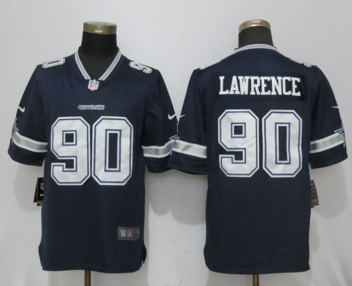 Men Dallas cowboys 90 Lawrence Blue Nike Vapor Untouchable Limited NFL Jerseys