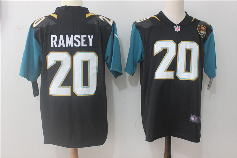 Men Jacksonville Jaguars 20 Ramsey Black Nike Vapor Untouchable Limited NFL Jerseys