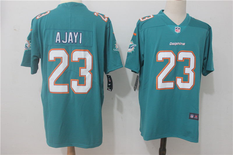 Men Miami Dolphins 23 Ajayi Green Nike Vapor Untouchable Limited NFL Jerseys