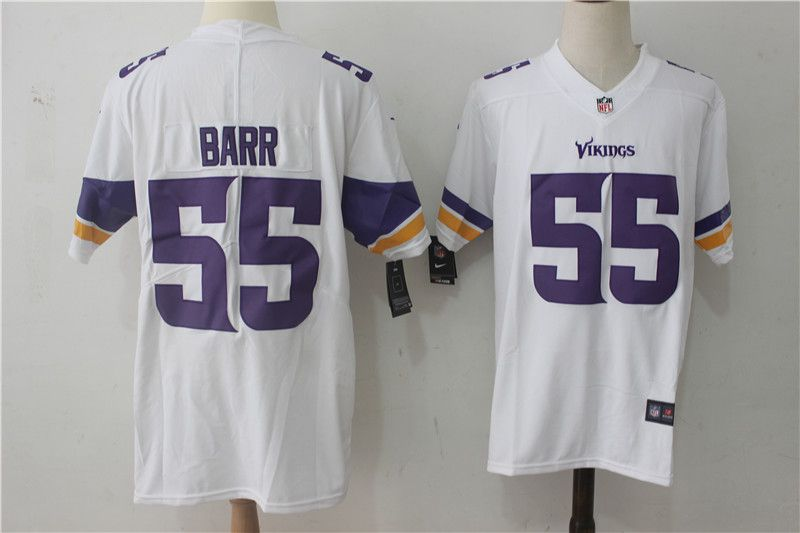 Men Minnesota Vikings 55 Barr White Nike Vapor Untouchable Limited NFL Jerseys