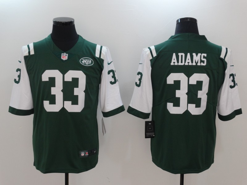 Men New York Jets 33 Adams Green Nike Vapor Untouchable Limited NFL Jerseys