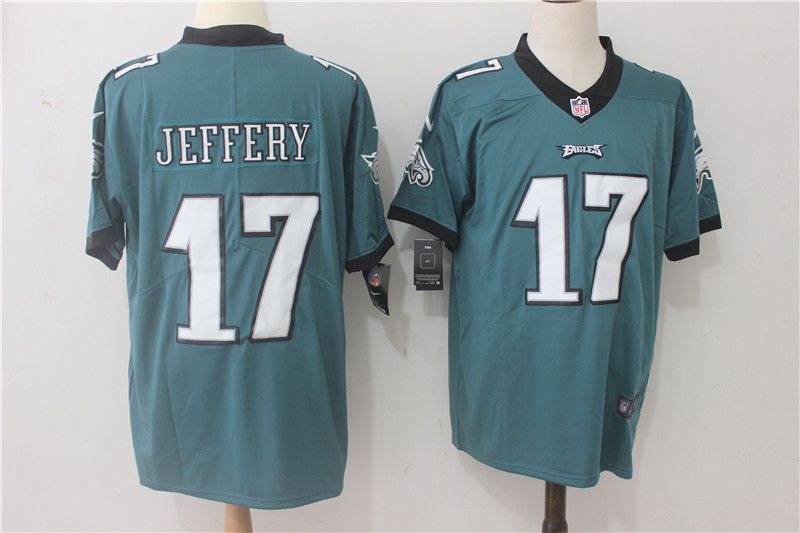Men Philadelphia Eagles 17 Jeffery Green Nike Vapor Untouchable Limited NFL Jerseys