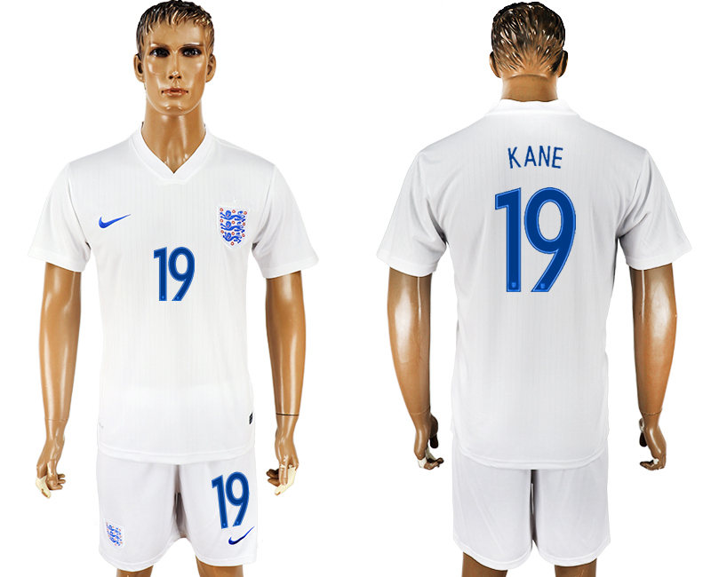 Men 2018 World Cup England home 19 white soccer jersey