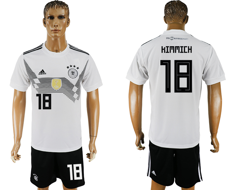 Men 2018 World Cup Germany home 18 white soccer jersey