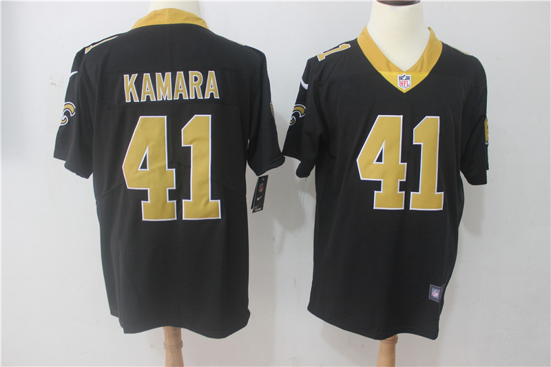 Men New Orleans Saints 41 Kamara Black Nike Vapor Untouchable Limited NFL Jerseys