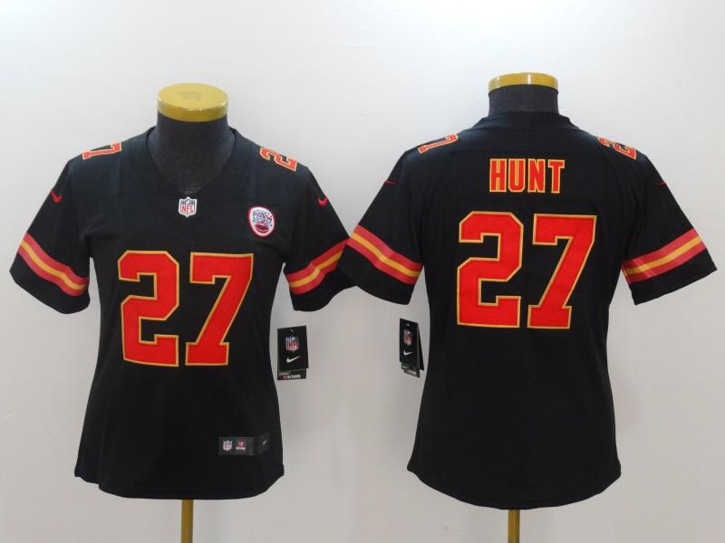 official photos d1573 7271e NFL Customize Kansas City Chiefs 38 Parker White Men Nike ...