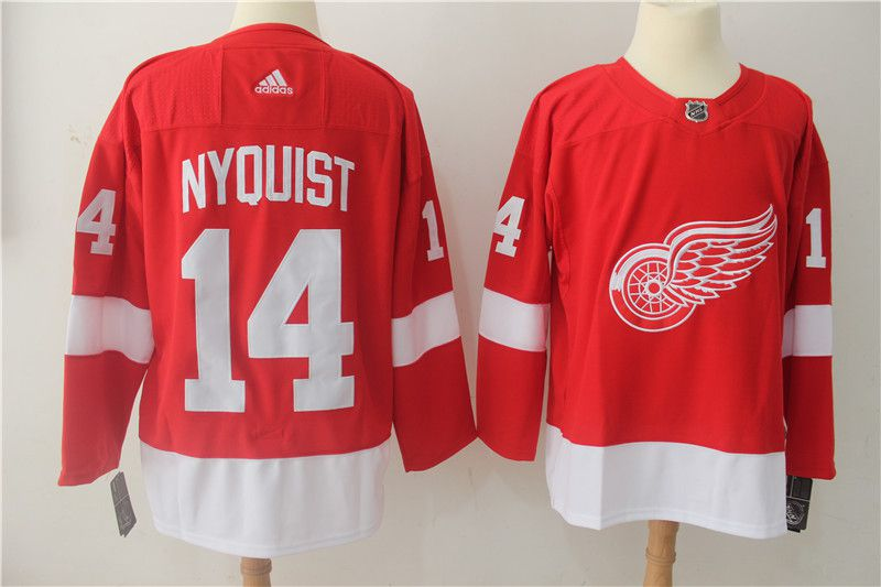 finest selection 63201 a535e adidas detroit red wings 5 nicklas lidstrom purple authentic ...