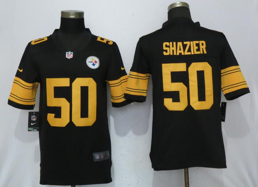 8da559049 mens pittsburgh steelers 25 artie burns black 2016 color rush stitched nfl  nike limited jersey